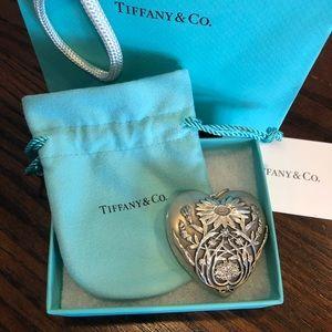 Never used Tiffany Daisy large locket